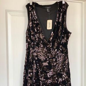 Dresses & Skirts - Black Sequin Party Dress